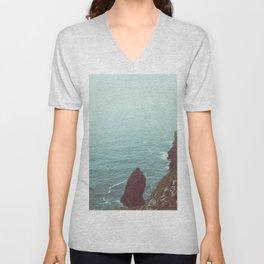 Faded Beach Unisex V-Neck