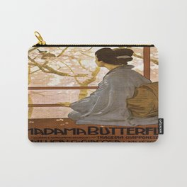 Vintage poster - Madama Butterfly Carry-All Pouch
