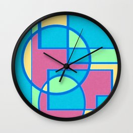 Roads and Roundabouts Wall Clock