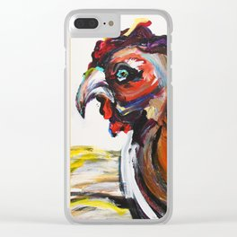 ROOSTER! Clear iPhone Case