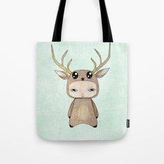 A Boy - Red Deer Tote Bag