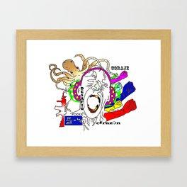 Poder! Framed Art Print