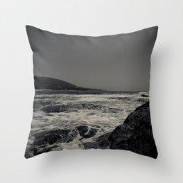 Boiling Ocean Throw Pillow