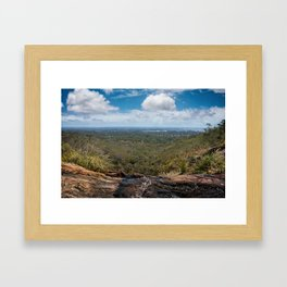 Lesmurdie Falls // 2 Framed Art Print