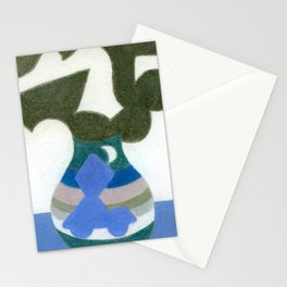 Moonlight Mystery Vase Stationery Cards