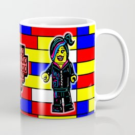 The Lego Movie Valentine with Emmett and Wyldestyle (Lucy) Coffee Mug