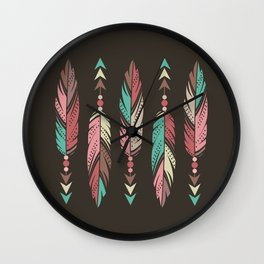 Gentle Warrior Wall Clock