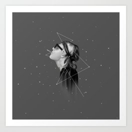 EVERYTHING IS BLACK & WHITE Art Print