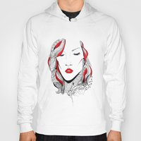 rihanna Hoodies featuring Rihanna  by Ina Spasova puzzle