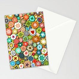 millefiori yellow Stationery Cards