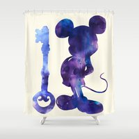 key Shower Curtains featuring The Key by Emile Kumfa