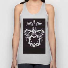 Tribal Mask Unisex Tank Top