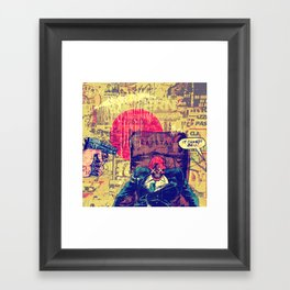 It Cannot Be! Framed Art Print
