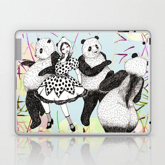 Panda Dance Laptop & iPad Skin