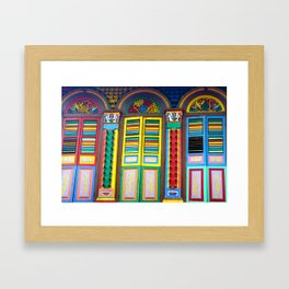 Windows to the World Framed Art Print