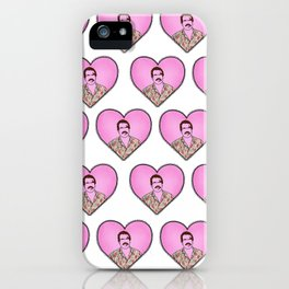 Hopper Hearts iPhone Case