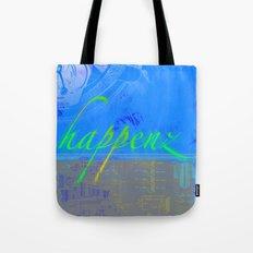 Happenz Tote Bag