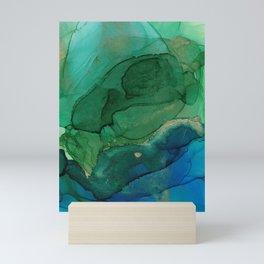 Ocean gold Mini Art Print