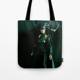 It's come to my attention that you don't know who I am. I am Hela. Odin's firstborn... Tote Bag