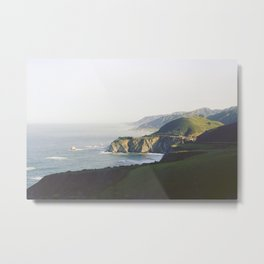 US-1 In the Morning Metal Print