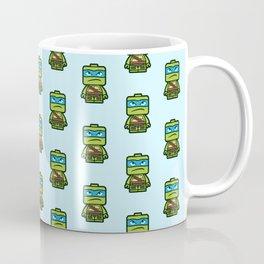Chibi Leonardo Ninja Turtle Coffee Mug
