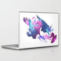 fight Laptop & iPad Skins featuring Bloody Fight by Robert Farkas