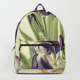 Purple Iris Backpack