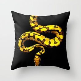 Stealth Snake Throw Pillow