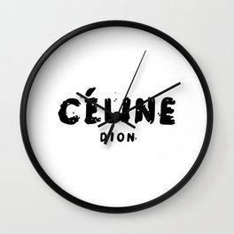 CelineDion Wall Clock