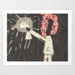 Death of selF Art Print