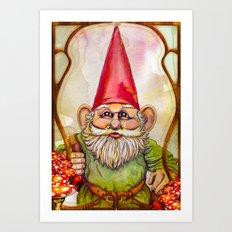 Little Traveler Art Print