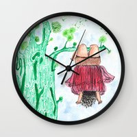 let it go Wall Clocks featuring LET GO! by Pritika Mathur