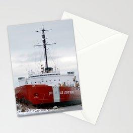 USCG Cutter Mackinaw 83 Stationery Cards