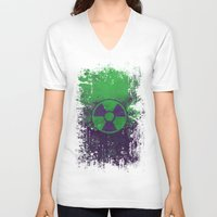 hulk V-neck T-shirts featuring Hulk by Some_Designs