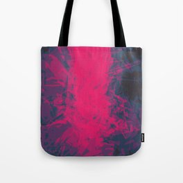 Shattered Purple Tote Bag