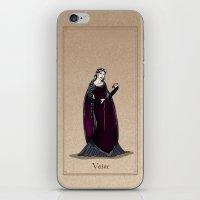 valar morghulis iPhone & iPod Skins featuring Vaire by wolfanita