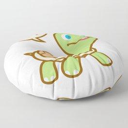 Thinking Turtle Floor Pillow