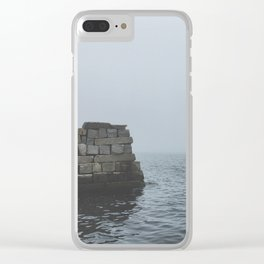 Foggy Cove Clear iPhone Case