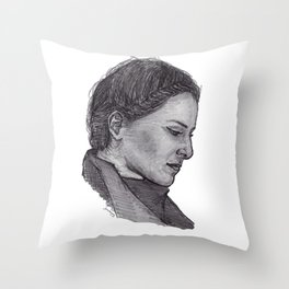 Emiliana Torrini Throw Pillow
