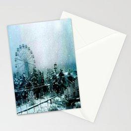 Cold Forest Playground Stationery Cards