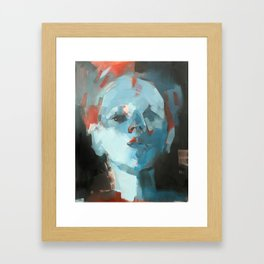Scrutiny Framed Art Print