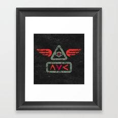 Ave Framed Art Print