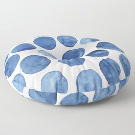 Blue dots Floor Pillow