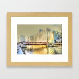 Chicago Merchandise Mart Framed Art Print