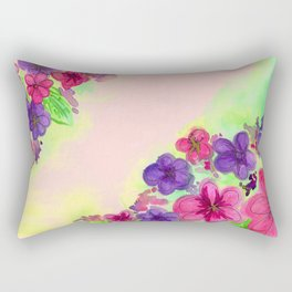 June flowers Rectangular Pillow
