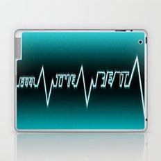 Feel The Beat Laptop & iPad Skin