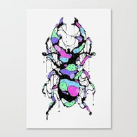 bug Canvas Prints featuring BUG by maivisto