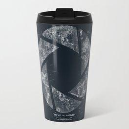 Traveling Lens (Dark Blue) Travel Mug