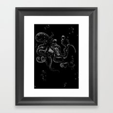Aquatic Strongman Framed Art Print