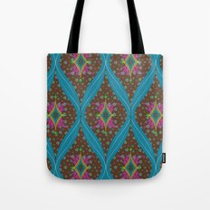 teardrop pattern Tote Bag